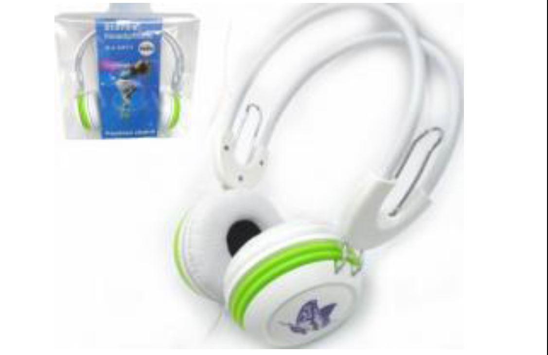 MV-8668 אוזניות ללא מיקרופון.