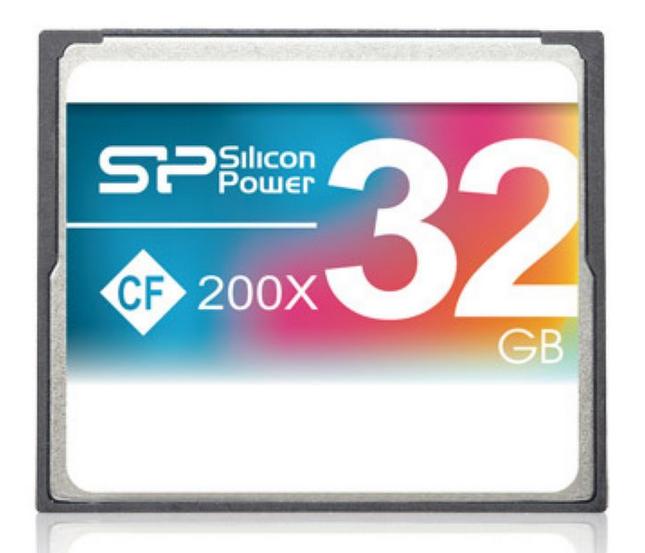 כרטיס זיכרון  SILICON POWER Compact Flash 200X 32GB
