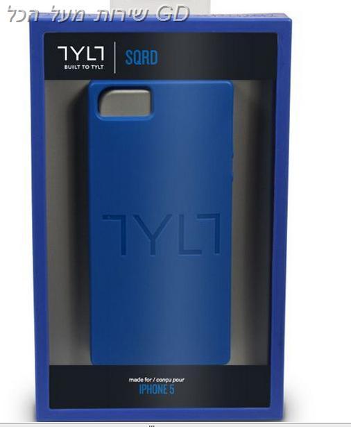 כיסוי מגן לאייפון 5 TYLT SQRD