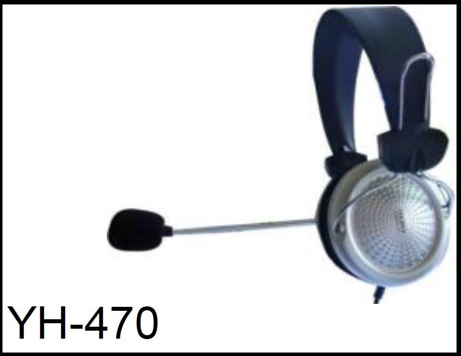 YH-470 אוזניות נוחות מאוד ואופנתיות הכוללות מיקרופון