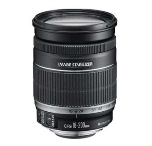 עדשה Canon EF-S 18-200mm IS קנון