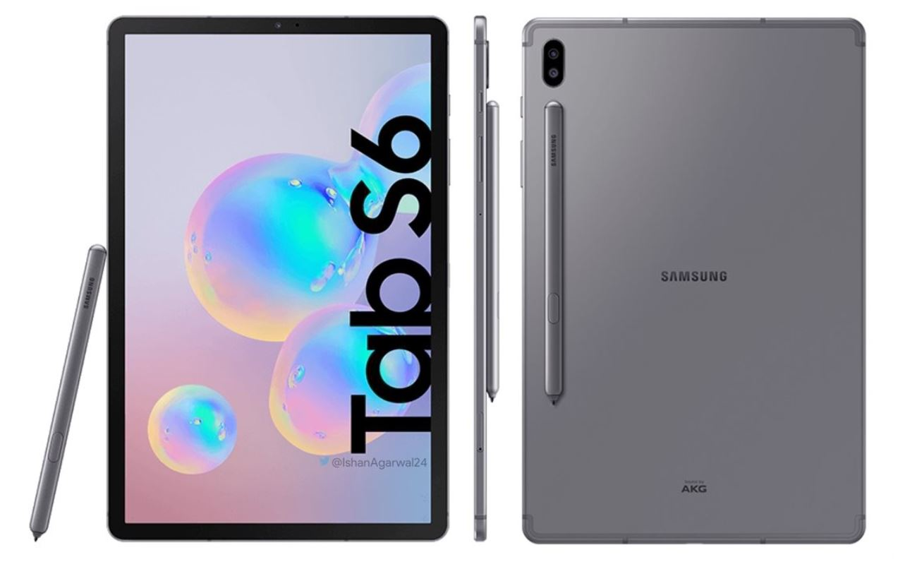 "טאבלט Samsung Galaxy Tab S6 10.5"" SM-T860 128GB 6Ram Wifi With S-Pen"