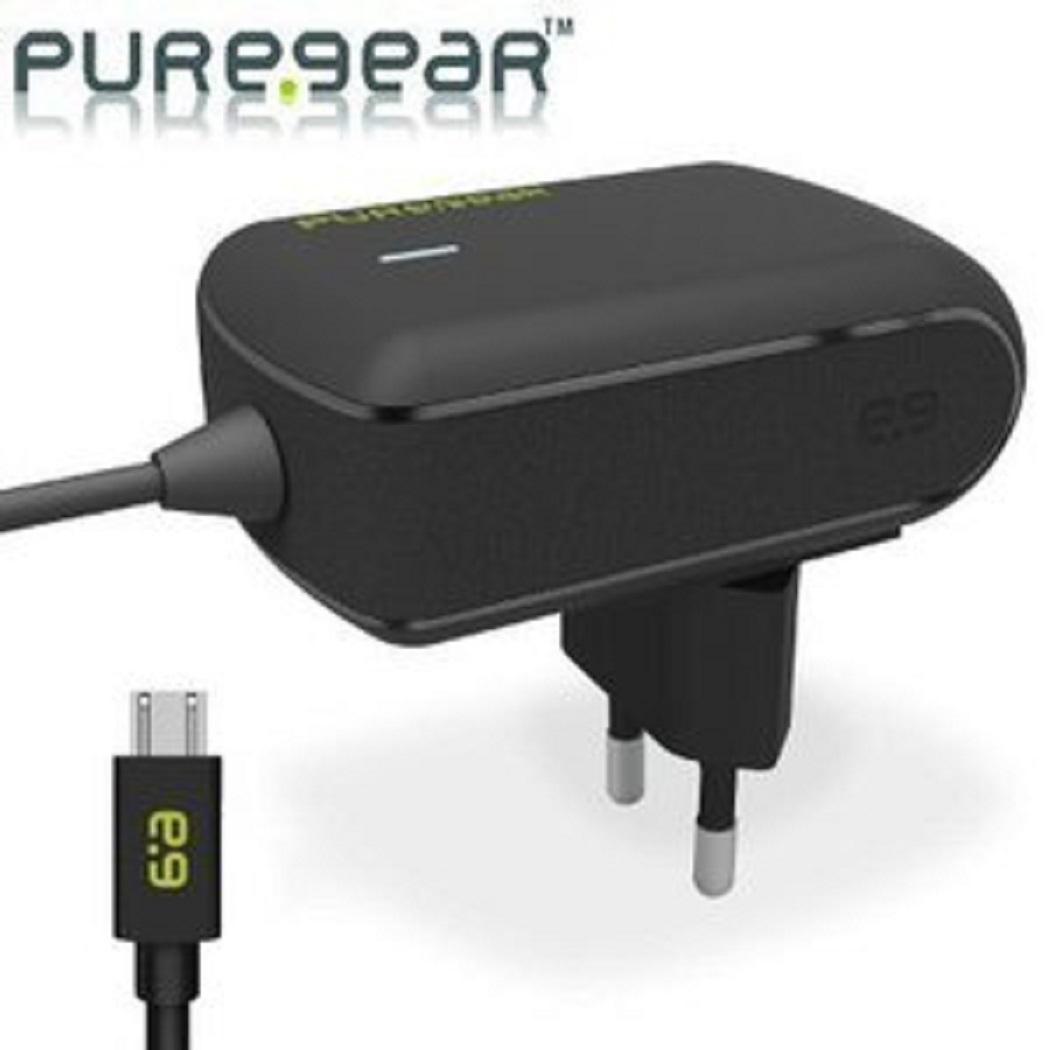 מטען PureGear 12W/2.4A Wall Charger with Micro USB Connector Pure Gear