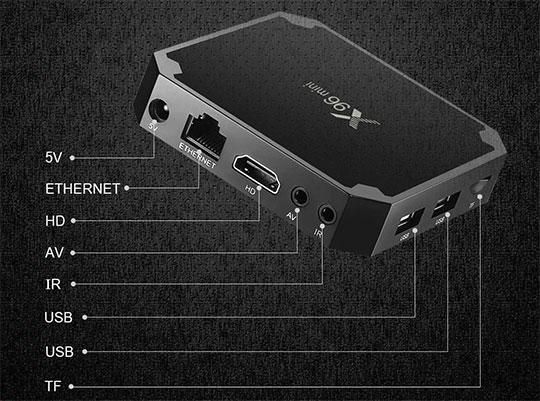 סטרימר X96 MINI 4K עם נגן KODI בעברית אנדרואיד 7.1