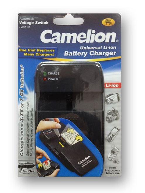 מטען אוניברסלי למצלמות - CAMELION