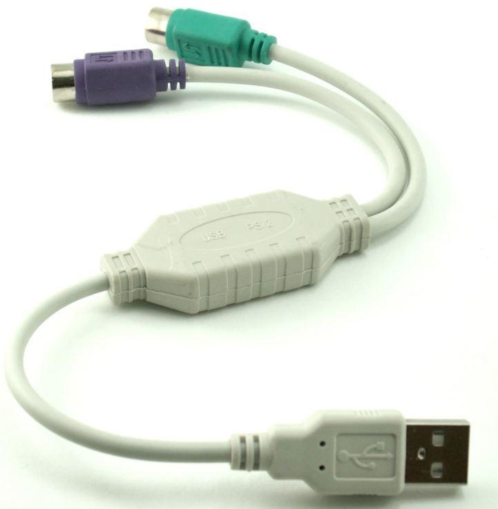 Adapter מתאם PS2 ל USB