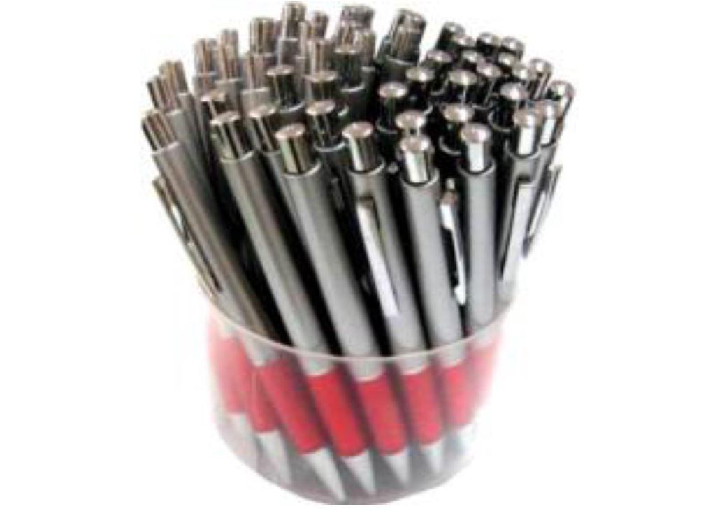 Button Pen עט כדורי עם לחצן