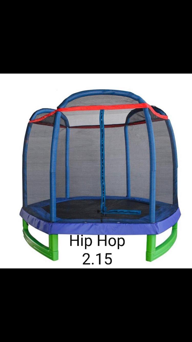 טרמפולינה 2.15 מטר 7 פיט hip hop