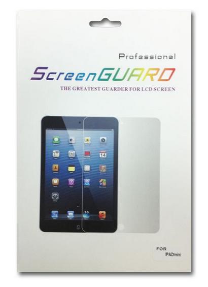 מגן מסך לאייפד מיני/iPad - מבריק