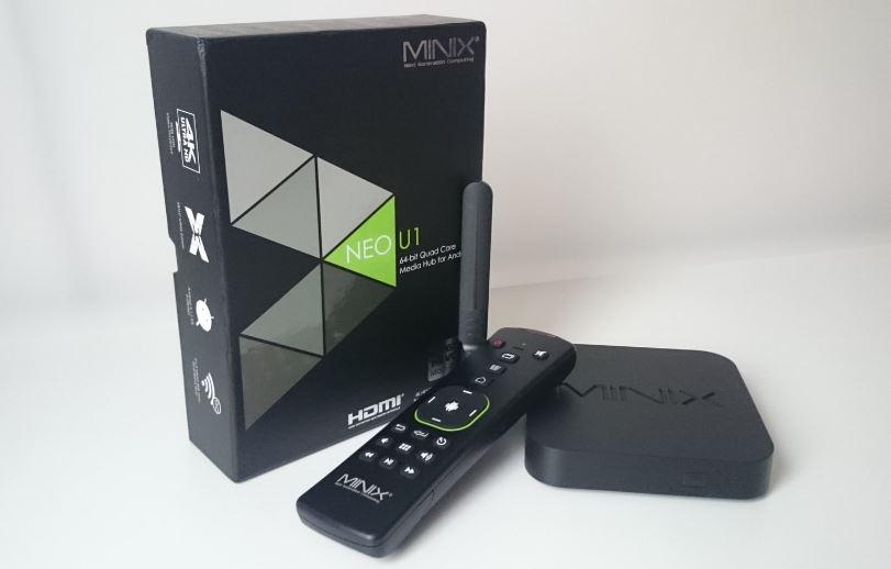 סטרימר MINIX NEO U1 Android 5.1  קופסת טלויזיה חכמה