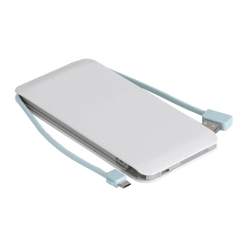 סוללה חיצונית WHITELINE PowerBank 5000mAh