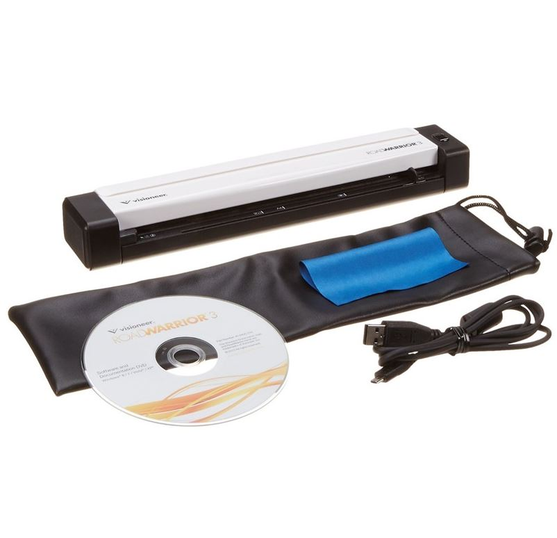 iscan סורק ידני מקצועי Visioneer scanner RoadWarrior 3