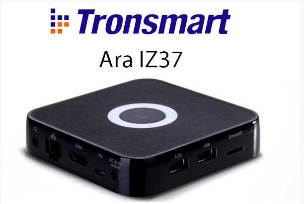 Tronsmart-ara-iz 2GB 32GB TV Box   סטרימר טלויזיה חכמה - Tronsmart Ara IZ37 - עם 2 מערכות הפעלה , וינדוס ואנדרואיד!