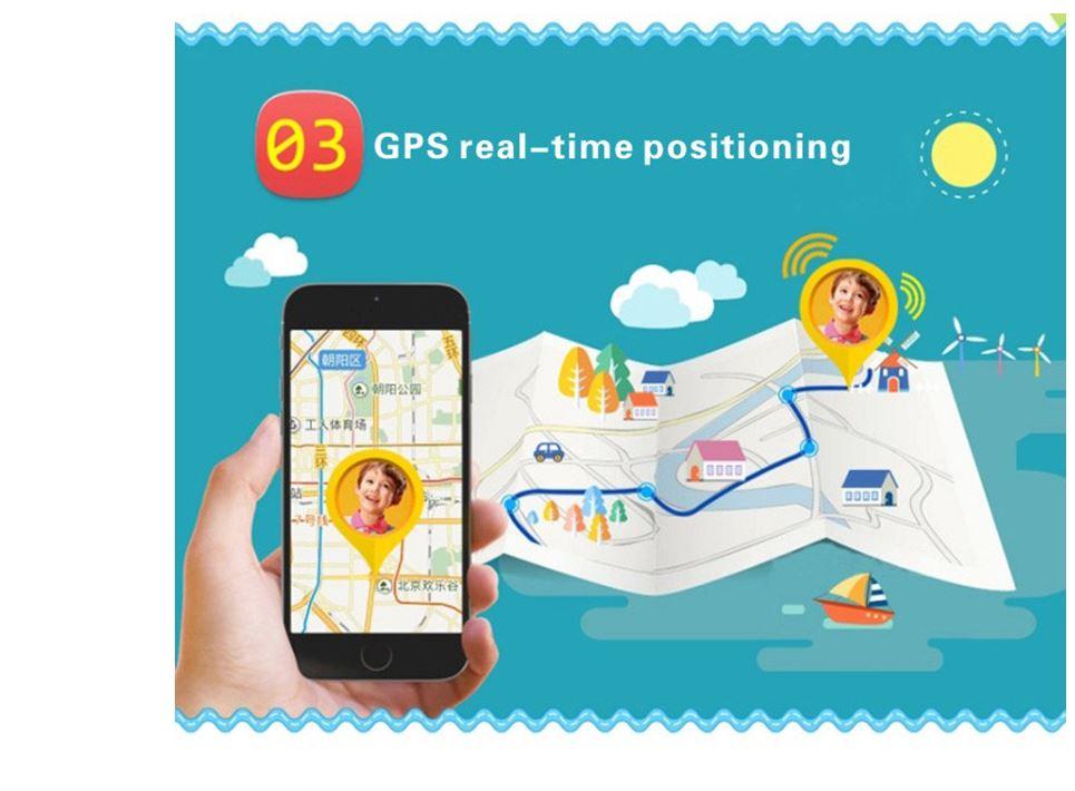 שעון חכם לילד עם GPS לאיתור - כולל סים לחיוג מספרים קבועים מראש Smartwatch GPS Tracker
