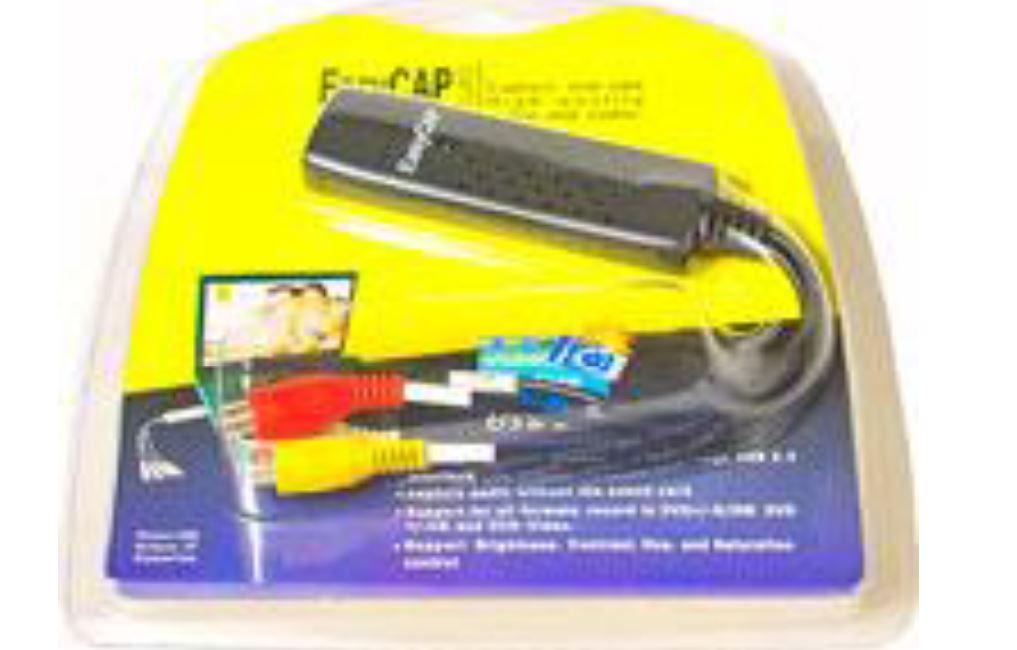 USB VideoCapture Adaptor ממיר קלטות וידאו ל DVD כולל תוכנת עריכה