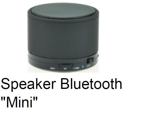 "Speaker Bluetooth ""Mini"" רמקול בלוטוס סטריאו איכותי"