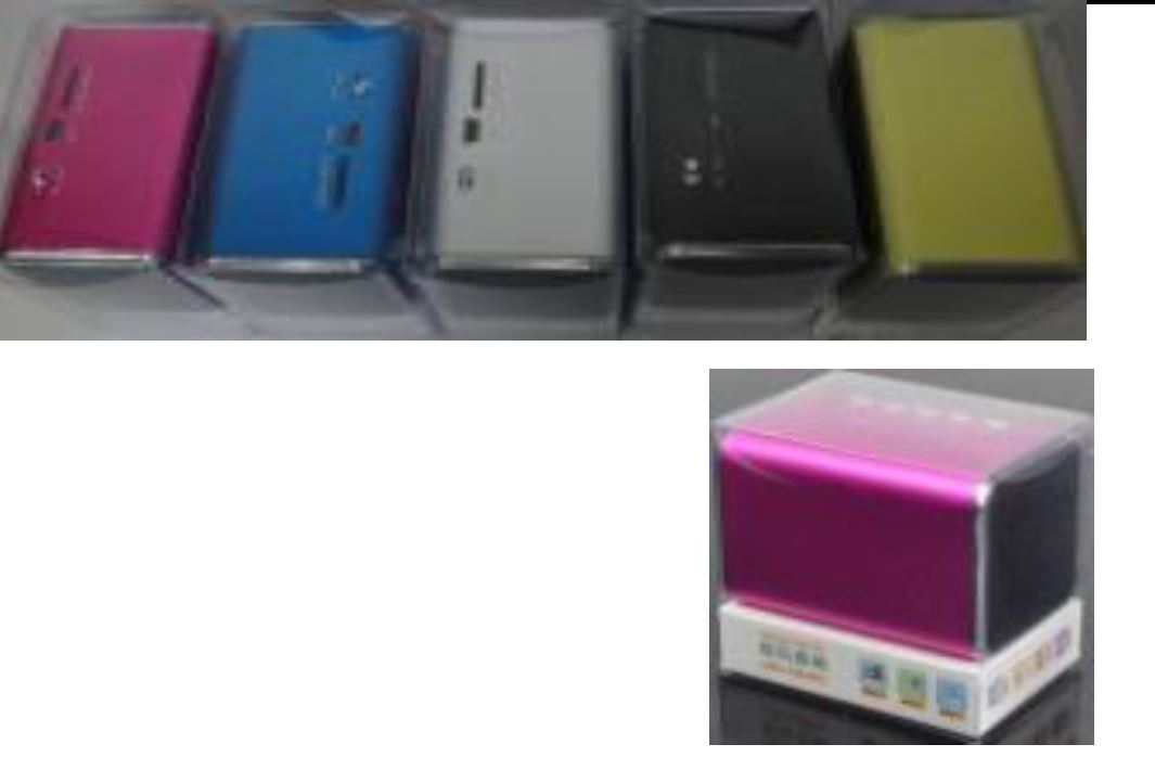 Speaker «Color» מערכת רמקולים ניידת עוצמתית לניגון מזכרונות