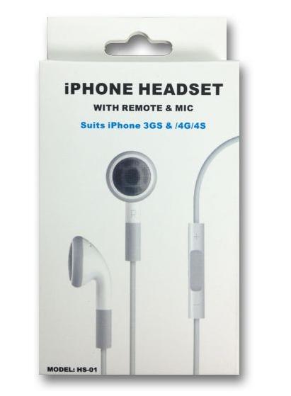 אוזניות לאייפון 4