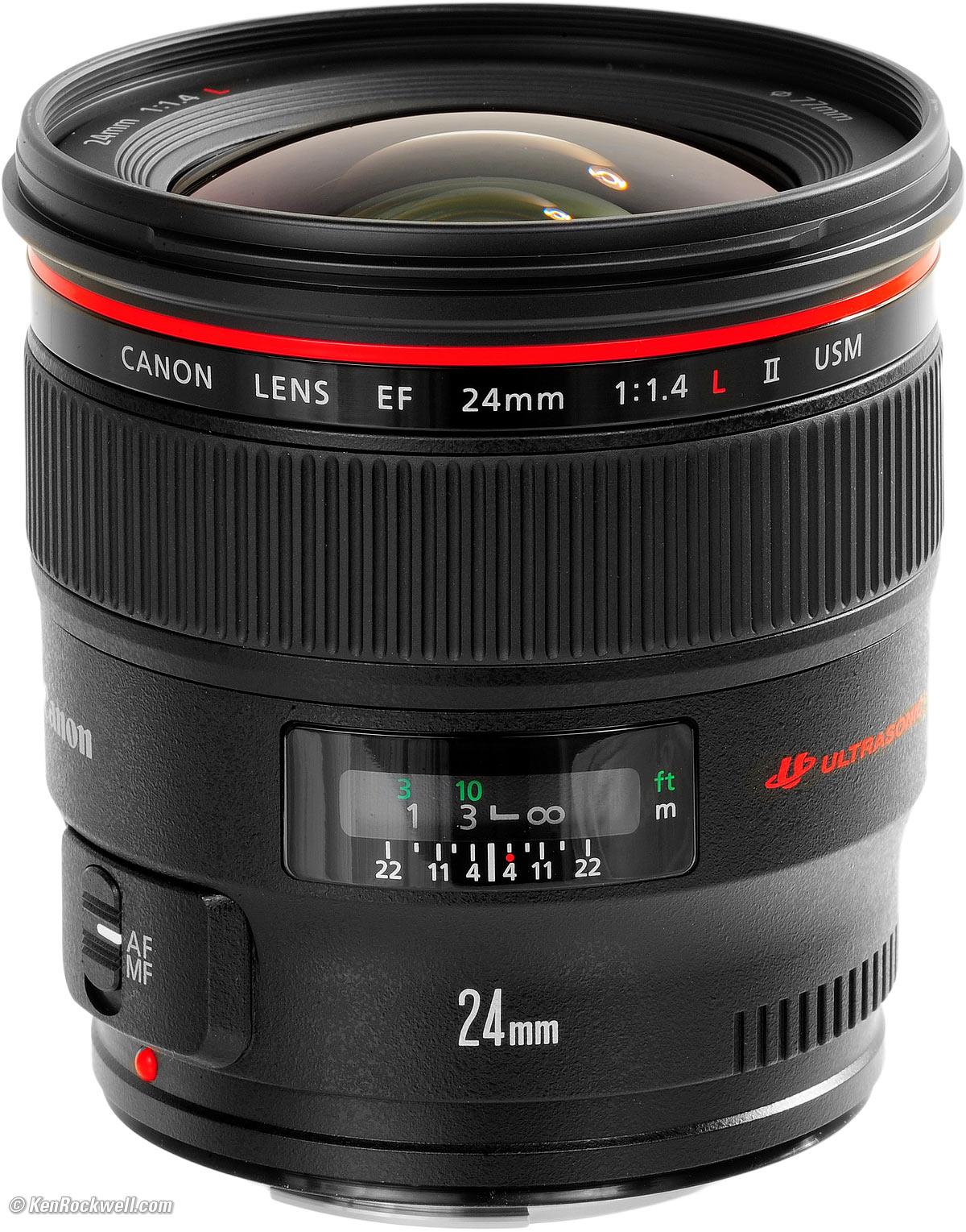 עדשה Canon EF 24mm f/1.4L USM קנון