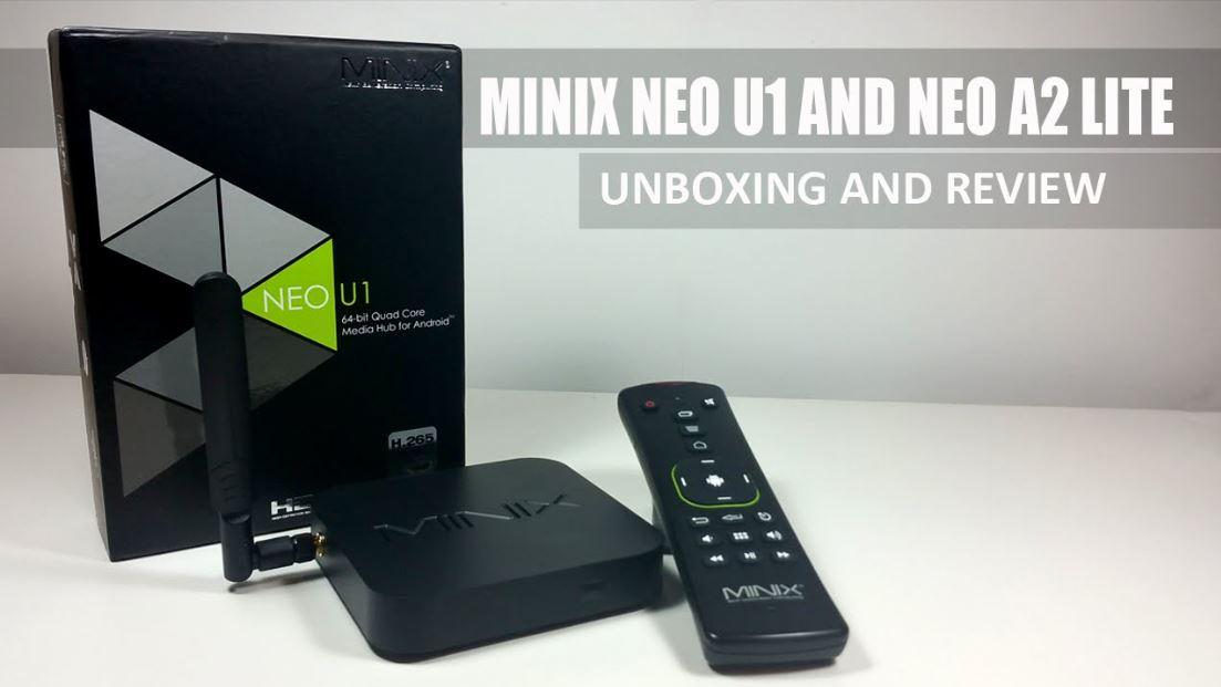 סטרימר MINIX NEO U1 Android 5.1 + שלט A2
