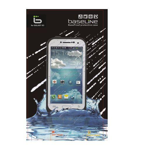 כיסוי נגד אבק/מים BASELINE אייפון 5