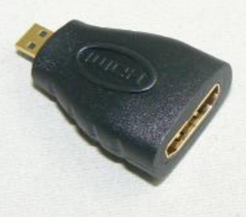 HDMI - Micro HDMI Adaptor מתאם HDMI Micro - HDMI
