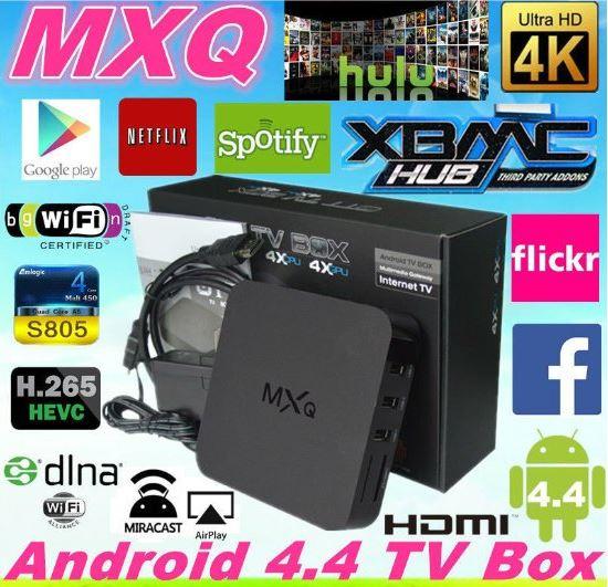 TV BOX MXQ PRO - הפוך את הטלויזיה לטלויזיה חכמה SMART TV