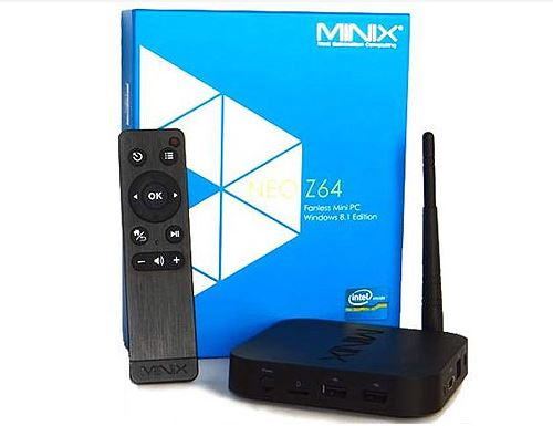 סטרימר MINIX NEO Z64 Win 8.1  קופסת טלויזיה חכמה