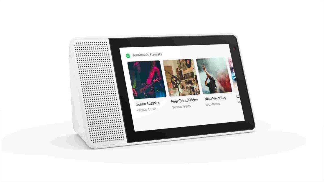 """טאבלט Lenovo Smart 8"""" ZA3R0001US with the Google Assistant"""
