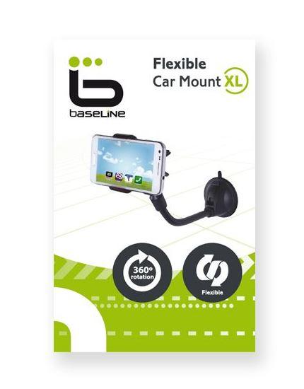 זרוע לטלפון אוניברסלית לניידים לרכב - כל סוגי הניידים - זרוע קליפס גמישה לרכב