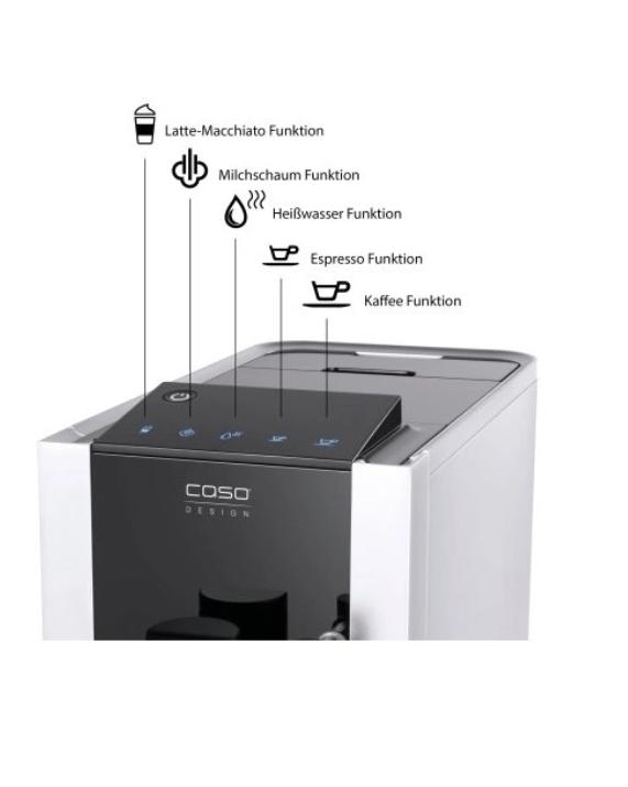 מכונת קפה אוטומטית לחלוטין Caso Café Crema One