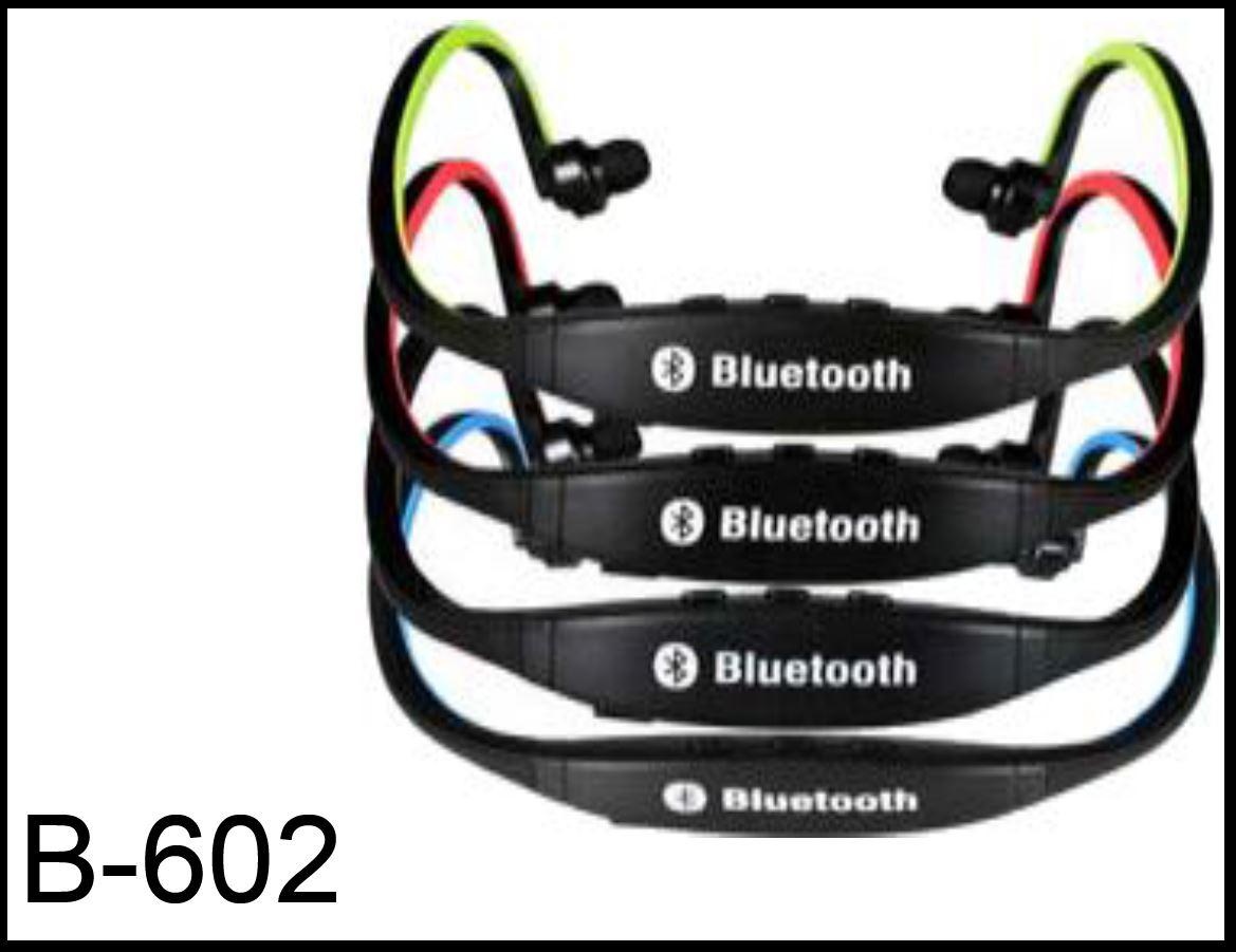 B-602 אוזניות Bluetooth עם MP3