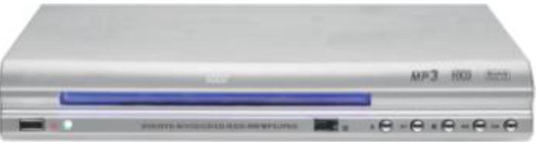 Divx קורא פורמט מוזיקה MP3 וסרטי AVI/MPEG-4 / DIVX.