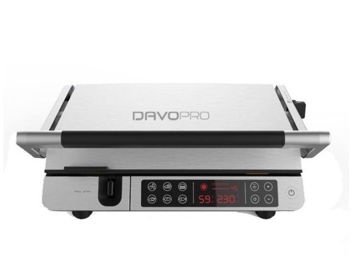 טוסטר מקצועי גריל מקצועי עם מד טמפרטורה נשלף DAVO PRO DGR820 דאבו פרו