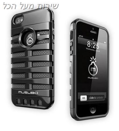 כיסוי  מגן MUSUBO לאייפון 5